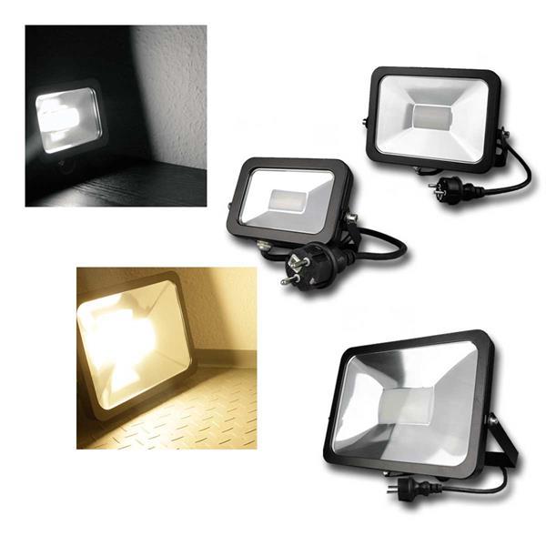 LED Fluter CTF-SLB SLIM SCHWARZ ChiliTec