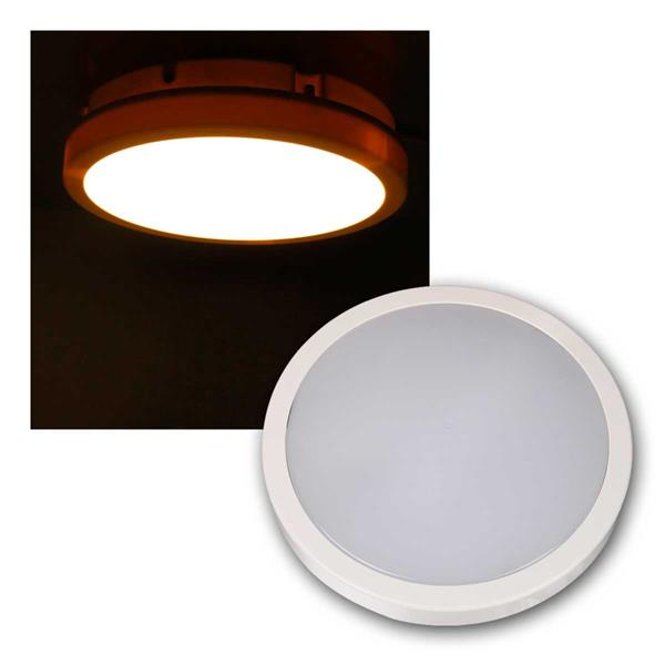 LED-Deckenleuchte MOON-R 1200lm warmweiß IP44