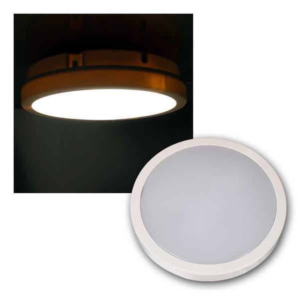 LED-Deckenleuchte MOON-R 1200lm neutralweiß IP44