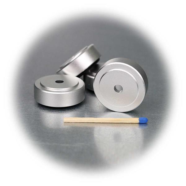 Schwingungsdämpfer im 4er Set für HiFi Geräte und Boxen geeignet