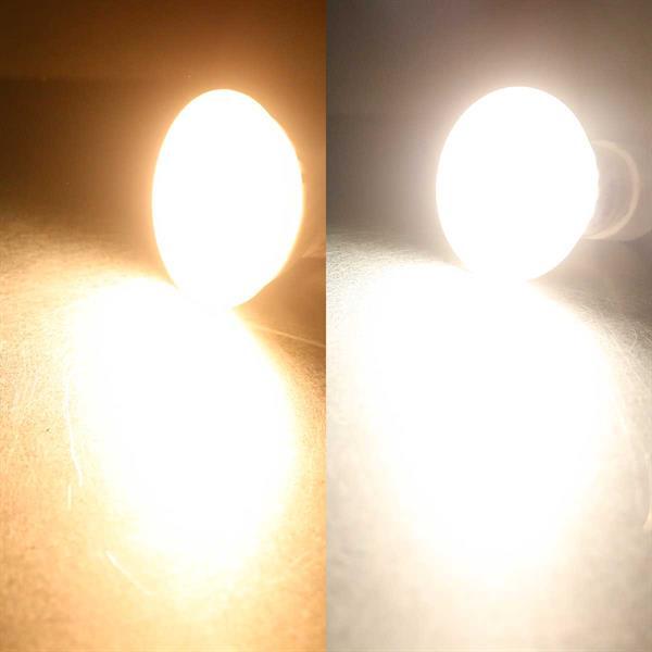 9W GU10-Strahler als Daylight oder Warmweiß-Variante