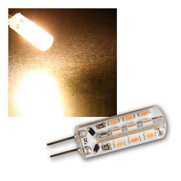 G4 LED Birne Silicia warmweiß 120lm 360° 12V