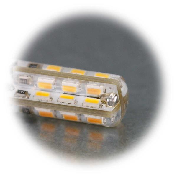 G4 Stiftsockel LED 12V  mit Silicia-Gel überzogen