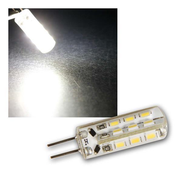3x G4 LED Birne Silicia neutralw 120lm 360° 12V