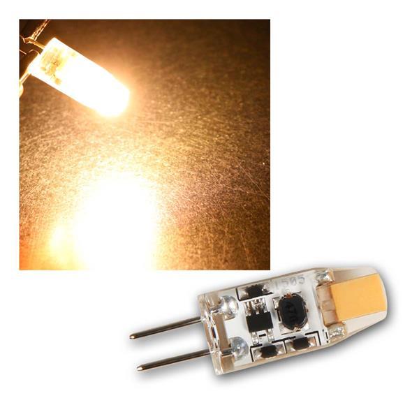 G4 LED Birne Silicia COB, warmweiß 110lm 360° 12V
