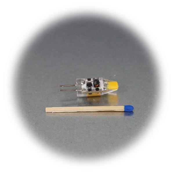 G4 12V Birne mit superhellen COB LEDs als Ersatz für Halogenlampen