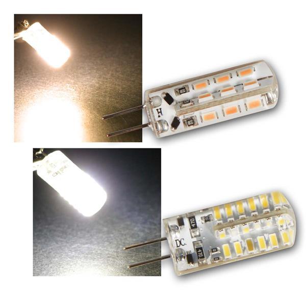G4 LED Birne Silicia McShine 360°, 12V 120/160lm