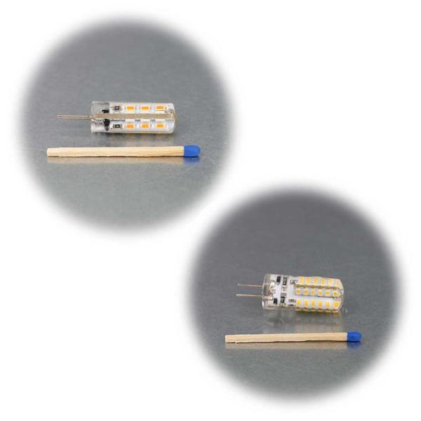 G4 12V Birne mit superhellen SMD LEDs als Ersatz für Halogenlampen