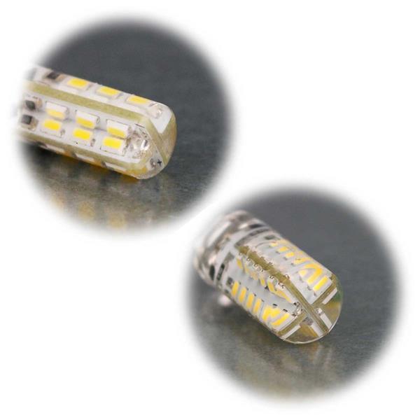 G4 Stiftsockel LED mit Silicia-Gel überzogen, Schutz vor äußeren Einflüssen