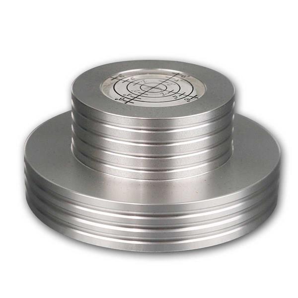 Plattenspieler-Stabilizer PST300, silber, Libelle