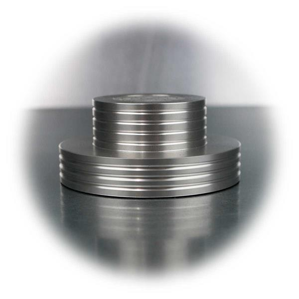 Platten-Stabiilzer aus Aluminium mit Libelle