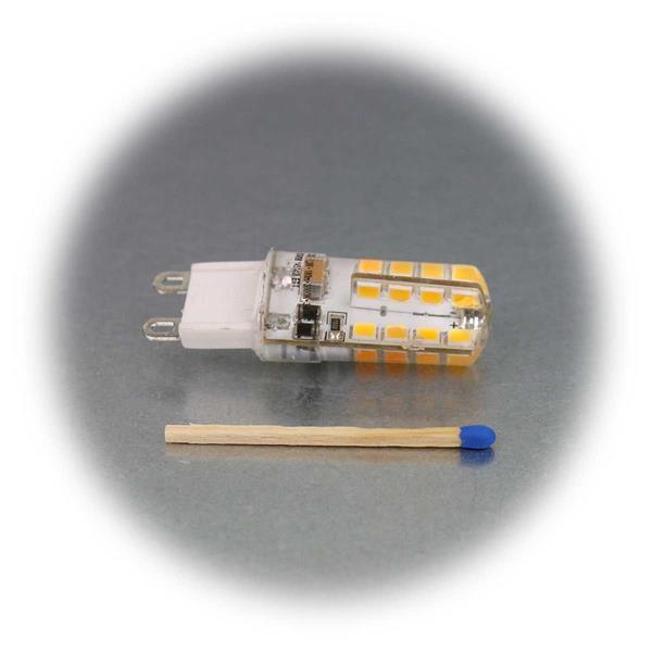 G9 Birne mit superhellen SMD LEDs als Ersatz für Halogenlampen