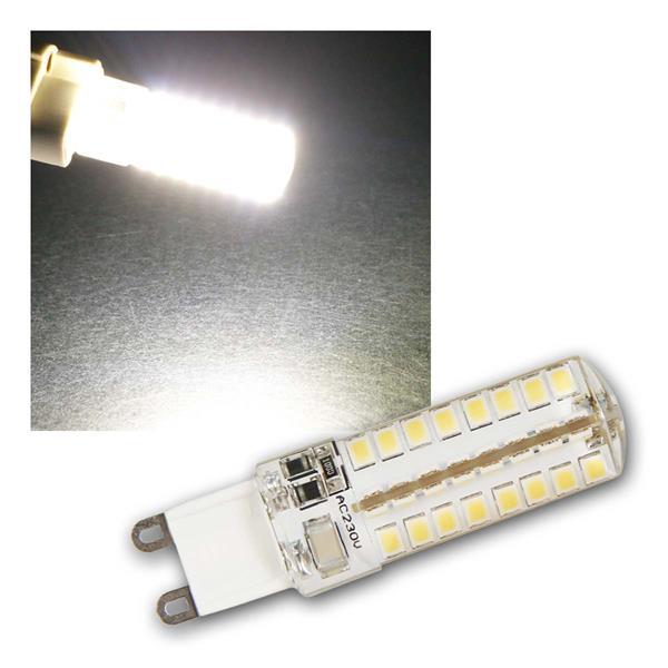 G9 LED Birne Silicia, neutralweiß 320lm 360° 230V