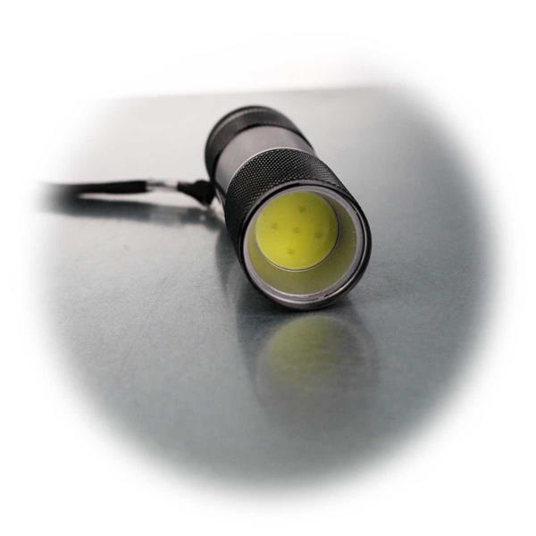 Taschenlampe mit 1W COB LED und Aluminium-Gehäuse