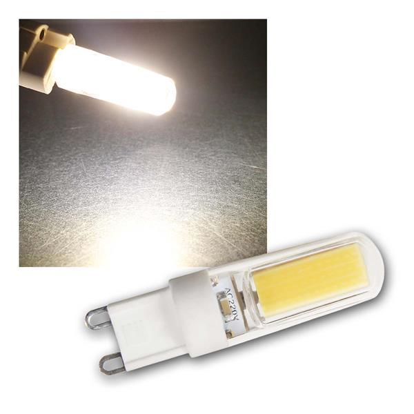 G9 LED Birne Silicia COB neutralwe 260lm 360° 230V