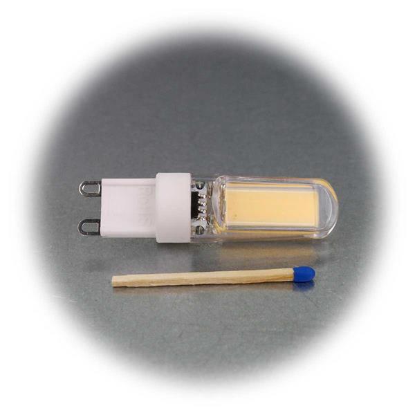 G9  Birne mit superhellen COB LEDs als Ersatz für Halogenlampen
