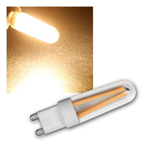 G9 LED Birne Filament warmweiß 300lm 360° 230V