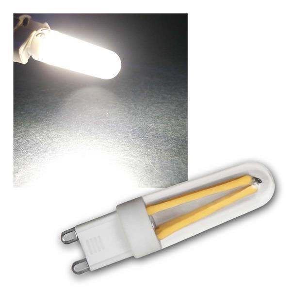 5x G9 LED Birne Filament nw 300lm 360° 230V