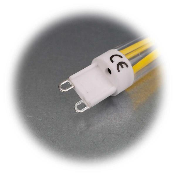 G9 Sockel LED Birnenform, Betriebsspannung 230V
