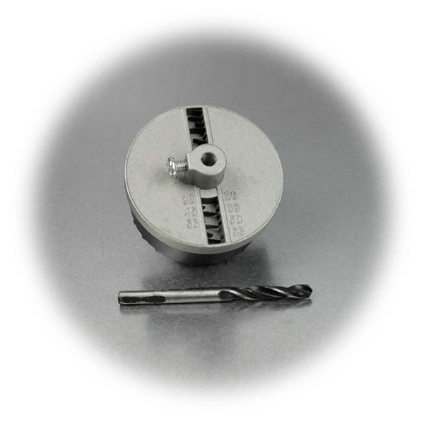 Set zum Sägen von Löchern für z.B. Steckdosen , Einbauleuchten, Spots