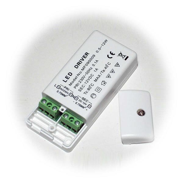 LED-Treiber mit 12W Ausgangsleistung