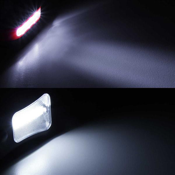 LED-Arbeitsleuchte mit 2 Lichtquellen