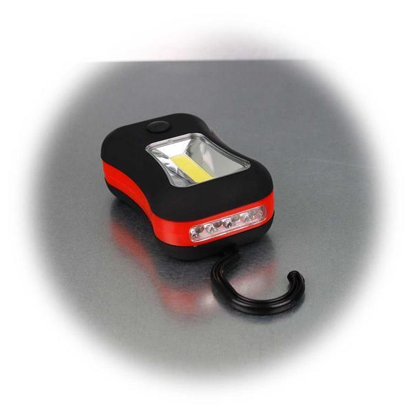 Handliche Arbeitsleuchte oder Taschenlampe