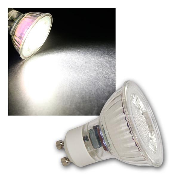 GU10 LED Strahler MCOB, 2W 100lm neutralweiß 36°