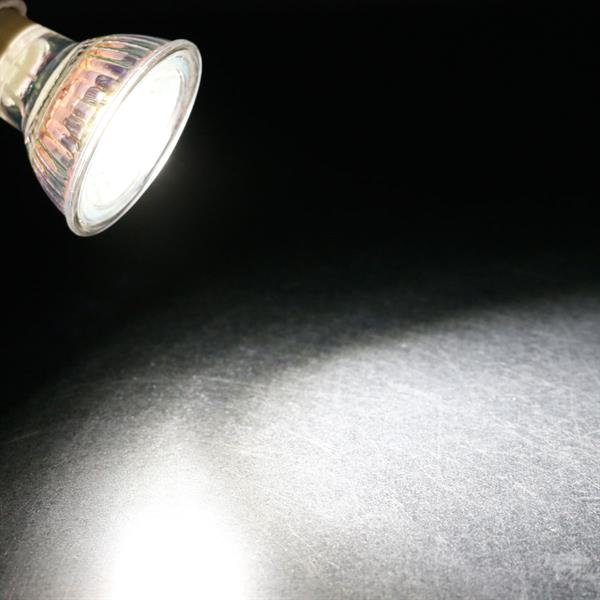 GU10 LED Spot mit 100lm Lichtstrom idealer Ersatz für Halogenlampen