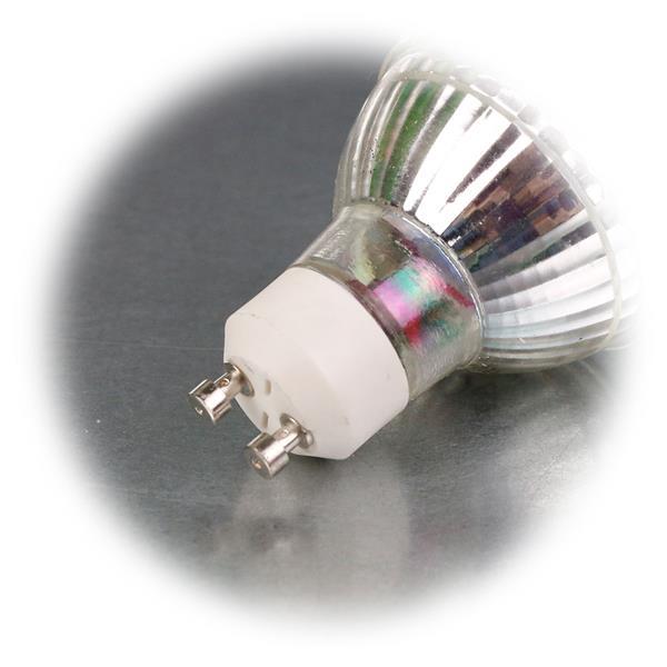LED Energiesparlampe für 230V mit Sockel GU10 und nur 3W Verbrauch