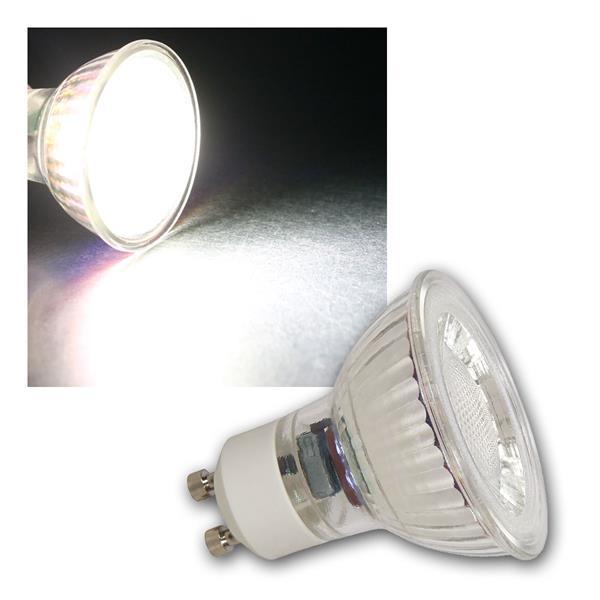 3x GU10 LED Strahler MCOB, 3W 250lm neutralw 36°