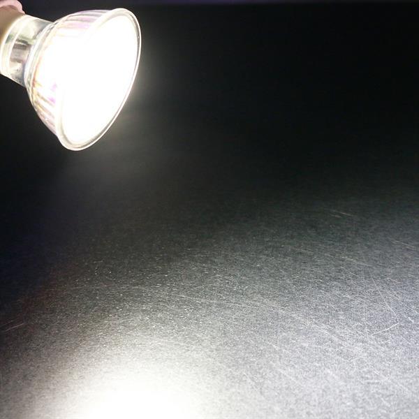 GU10 LED Spot mit 250lm Lichtstrom idealer Ersatz für Halogenlampen