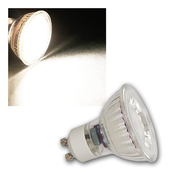 GU10 LED Strahler MCOB, 5W 400lm neutralweiß 36°
