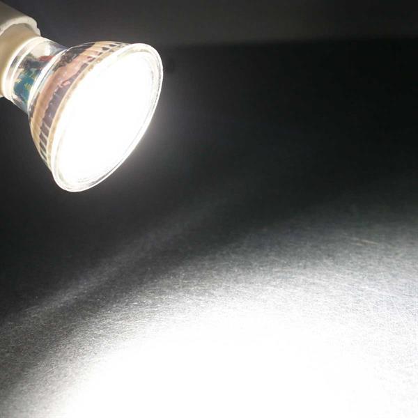 GU10 LED Spot mit 400lm Lichtstrom idealer Ersatz für Halogenlampen