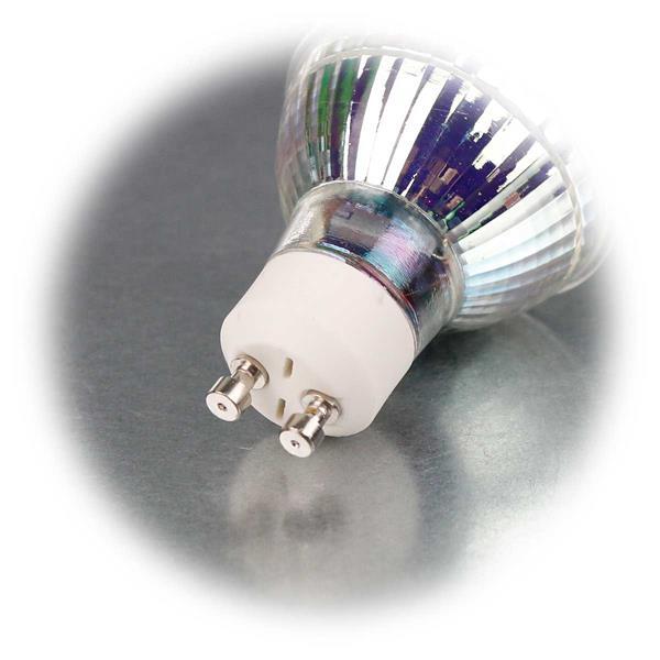 LED Energiesparlampe für 230V mit Sockel GU10 und nur 5W Verbrauch