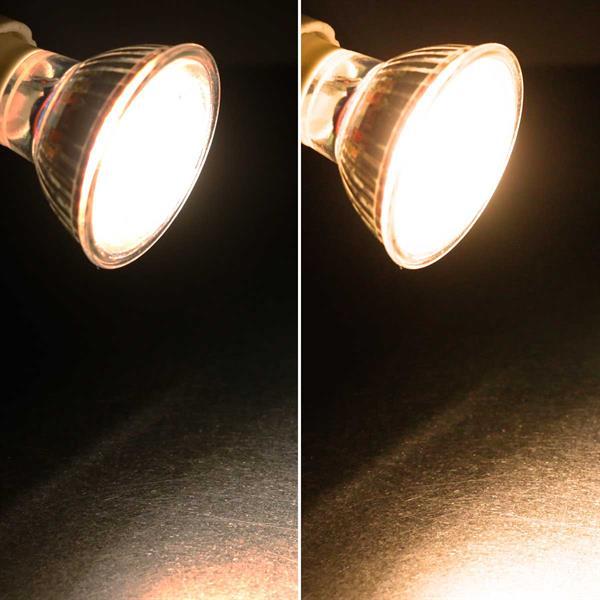 GU10 LED Spot mit 350lm Lichtstrom idealer Ersatz für Halogenlampen