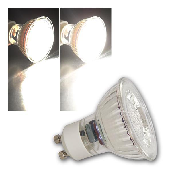 GU10 LED Strahler MCOB dimmbar, 7W 450lm neutralweiß 36°