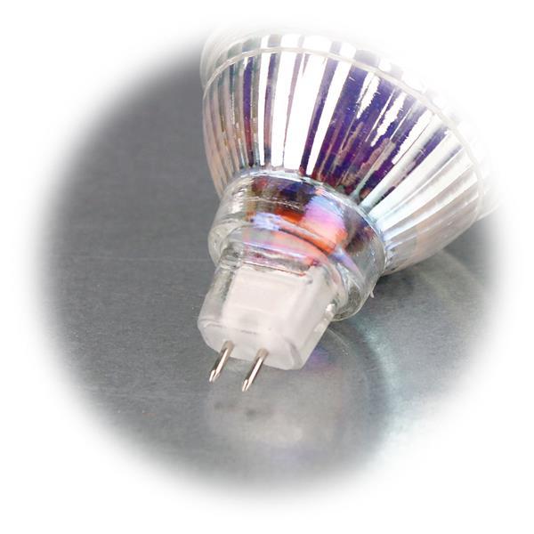 LED Energiesparlampe für 12V mit Sockel MR16 und nur 3W Verbrauch