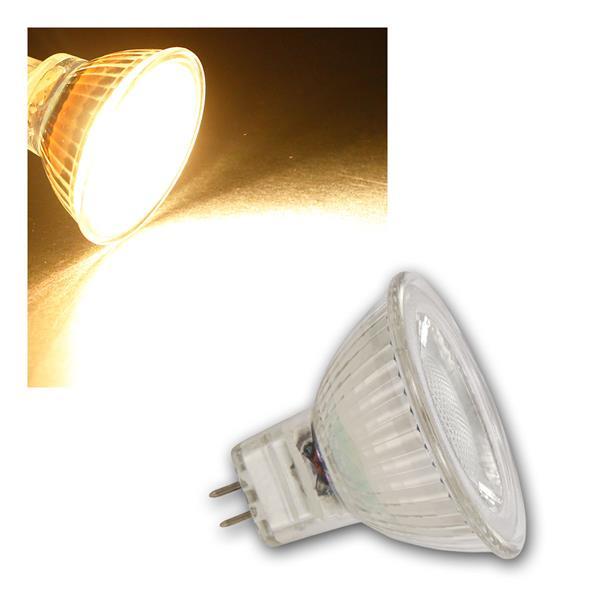 MR16 LED Strahler MCOB, 5W 400lm warmweiß 36°