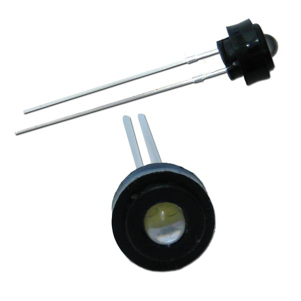 Anwendungsbeispiel für die Befestigung von 3mm LEDs