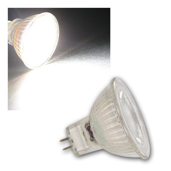 MR16 LED Strahler MCOB, 5W 400lm neutralweiß 36°