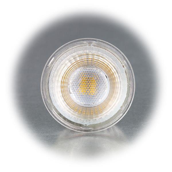 MR16 LED Leuchte im Halogenlook mit dem Maß 50x49mm (øxL)