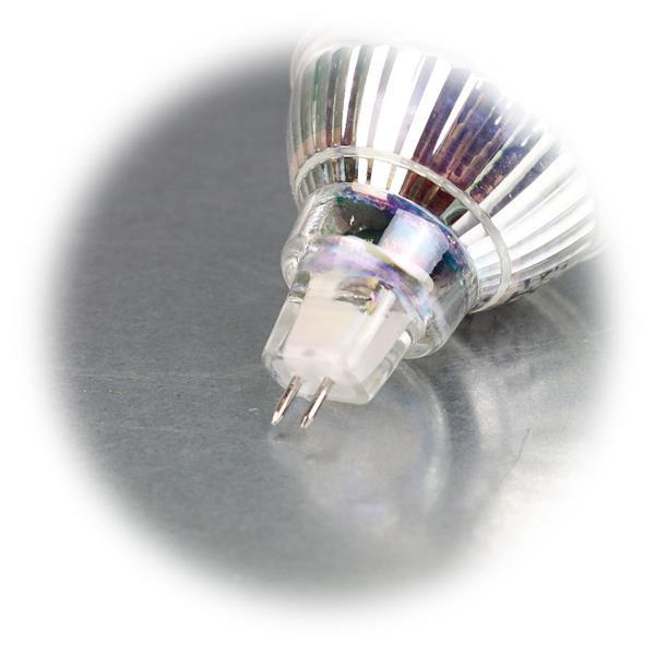 LED Energiesparlampe für 12V mit Sockel MR16 und nur 5W Verbrauch