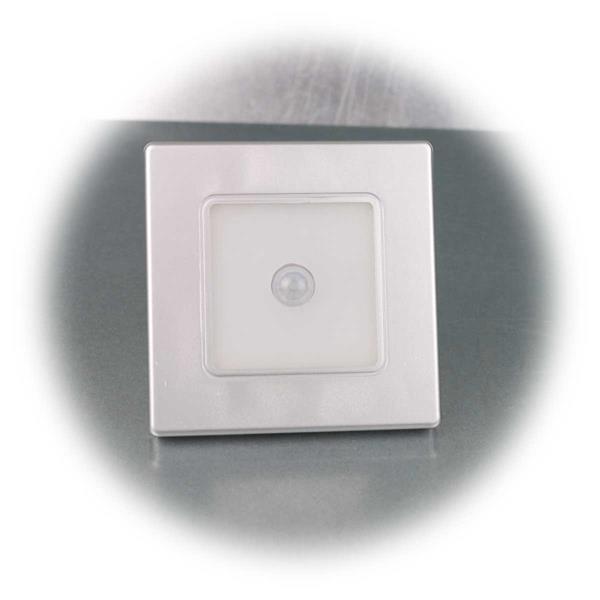Blendfreie LED Wand-Einbauleuchte mit PIR-Bewegungsnmelder