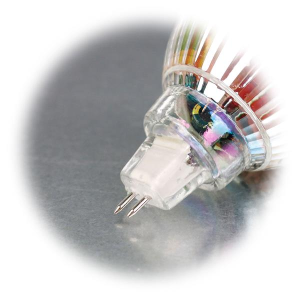 LED Energiesparlampe für 12V mit Sockel MR16 und nur 3 oder 5W Verbrauch