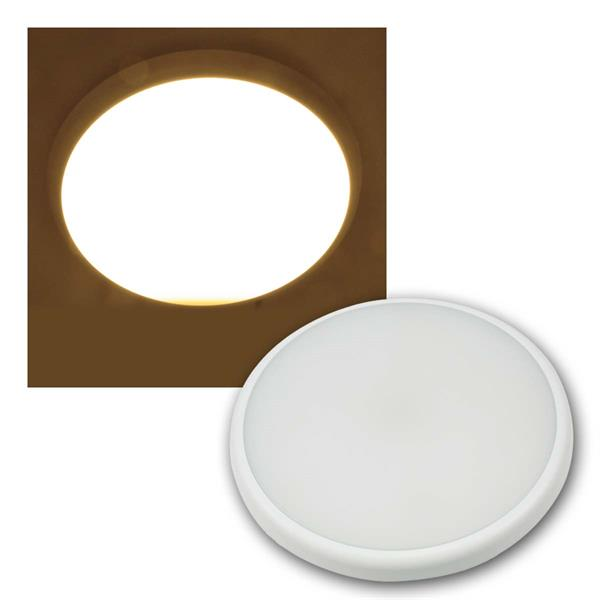 LED HF Deckenleuchte SALAO 16, IP54 16W 1300lm, warmweiß