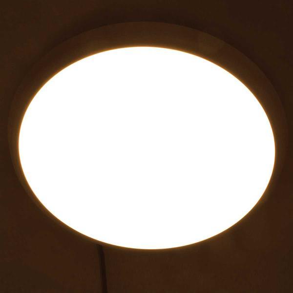 LED Sensor Deckenleuchte mit warmweißem Licht und Nachtlicht-Funktion