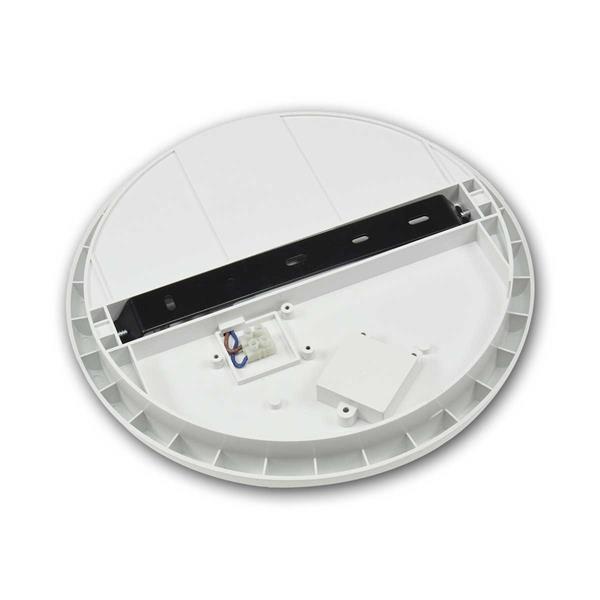 Flache LED-Deckenleuchte mit Bewegungsmelder