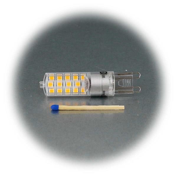 LED-Birne mit G9-Stiftsockel, 4W, dimmbar