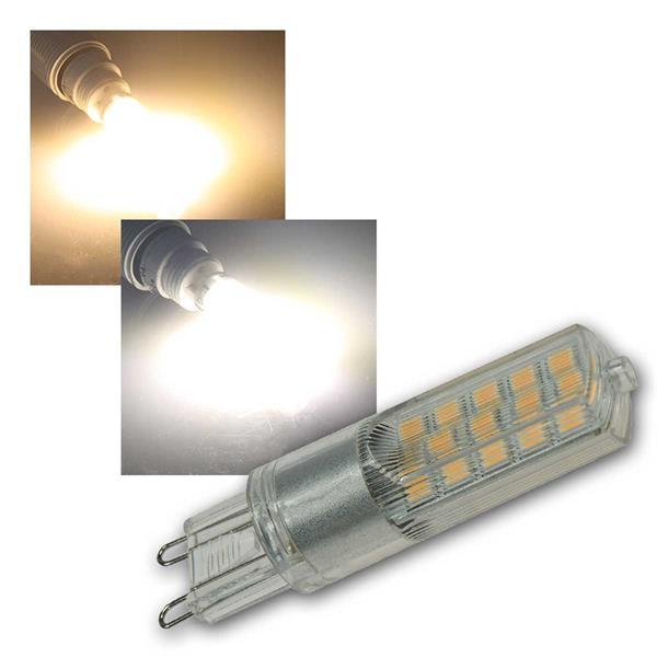 LED Stiftsockel Birne G9 4W warm/daylight dimmbar